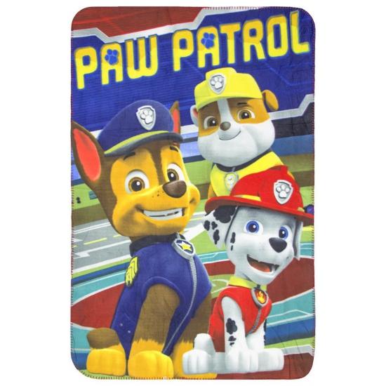 Fleece kleedje Paw Patrol rood voor kids thumbnail