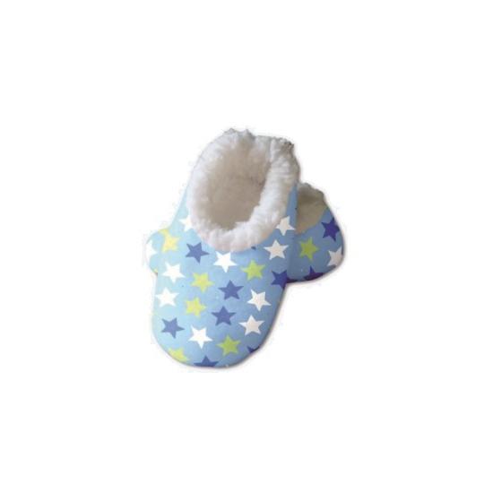 Afbeelding van Baby sloffen met sterren print