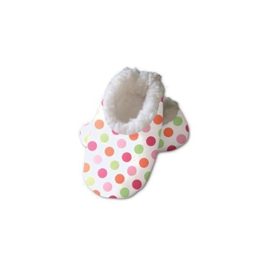 Afbeelding van Baby sloffen met stippen print