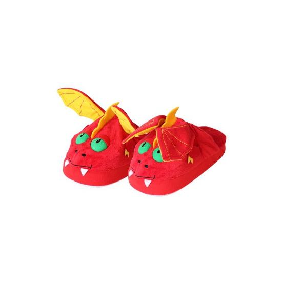 Afbeelding van Comfortabele draak pantoffels voor kinderen