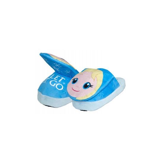 Afbeelding van Comfortabele Elsa pantoffels voor kinderen