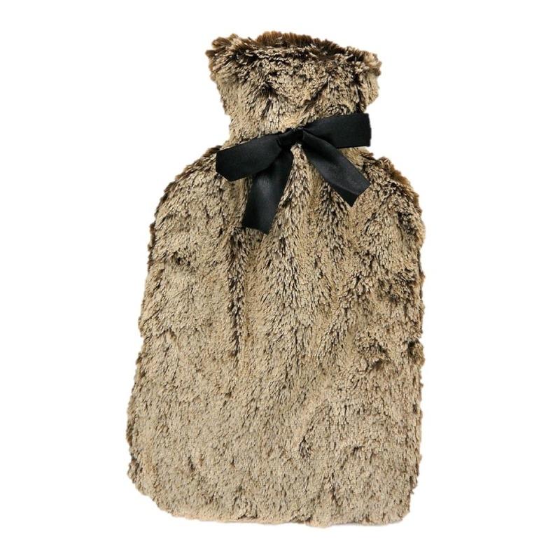 Afbeelding van Dames kruik met bruin bont 1,5 liter