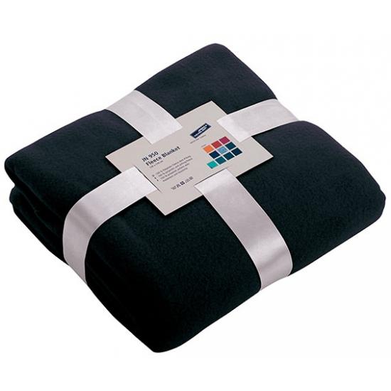 Afbeelding van Fleece dekentje in navy blauwe kleur