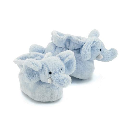 Afbeelding van Jellycat baby slofjes olifant