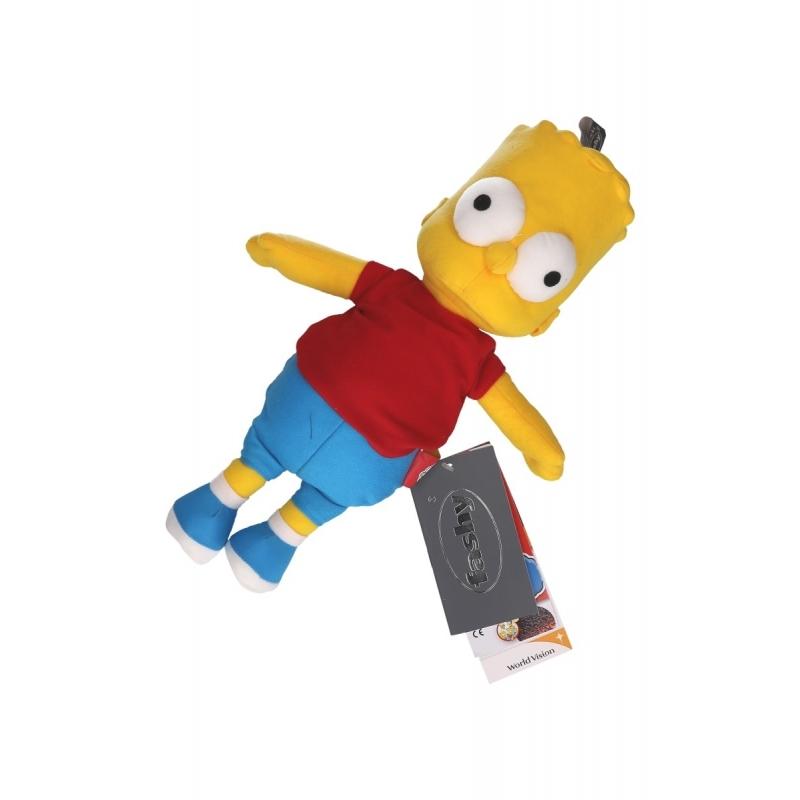 Afbeelding van Kado warmte knuffel van Bart Simpson