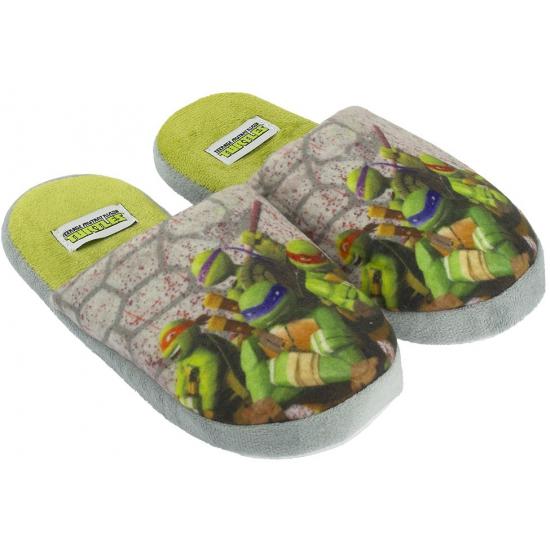 Afbeelding van Kindersloffen van Turtles grijs