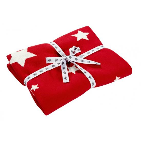 rode-kinder-deken-met-sterren
