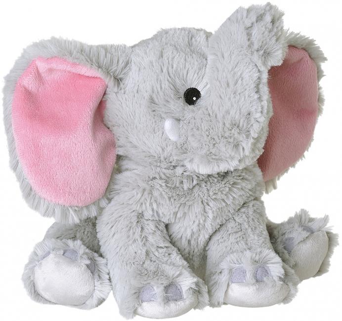 Afbeelding van Warmteknuffel olifant grijs 29 cm knuffels kopen