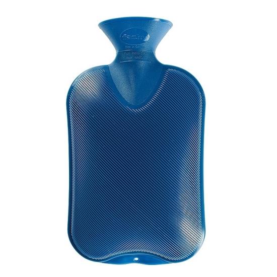 Afbeelding van Warmtekruik blauw 2 liter