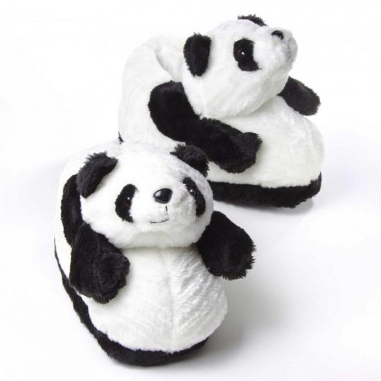 Afbeelding van Zachte dieren pantoffels panda